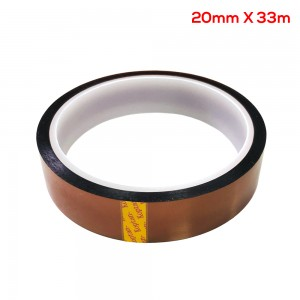 20mm x 33m Tape BGA High Temperature Heat Resistant