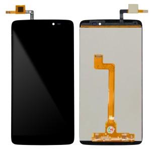 Alcatel One Touch Idol 3 (5.5) OT6045B/I/K/Y - Full Front LCD Digitizer Black