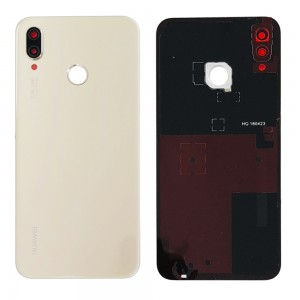 Huawei P20 Lite - OEM Battery Cover Gold with Camera Lens & Adhesive