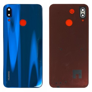 Huawei P20 Lite - OEM Battery Cover Blue with Camera Lens & Adhesive
