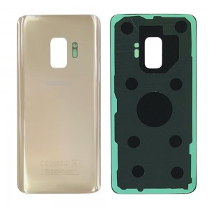 Samsung Galaxy S9 G960 - Battery Cover with Adhesive Gold