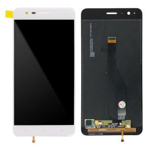 Asus ZenFone 3 Zoom ZE553KL - OEM Full Front LCD Digitizer White