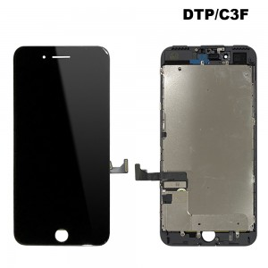 iPhone 7 Plus - LCD Digitizer (Original Remaded) Black (Comp. DTP/C3F)