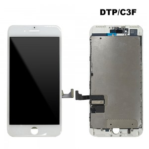 iPhone 7 Plus - LCD Digitizer (Original Remaded) White (Comp. DTP/C3F)