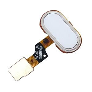 Meizu M3S - Home Button with Fingerprint Sensor White