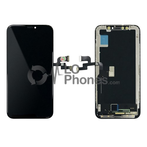 iPhone X - Full Front OLED Digitizer (Original Remaded) Black