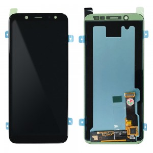 Samsung Galaxy A6 (2018) A600 - Full Front LCD Digitizer Black < Service Pack >