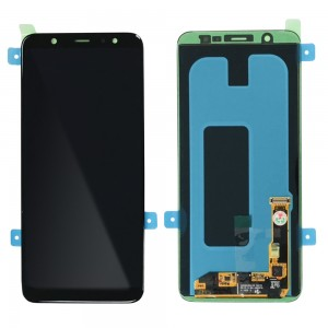"""Samsung Galaxy A6+ (2018) A605 - Full Front LCD Digitizer Black """" Service Pack """""""