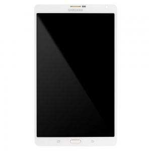 Samsung Galax Tab S 8.4 T705 - Full Front LCD Digitizer White (Service Pack)