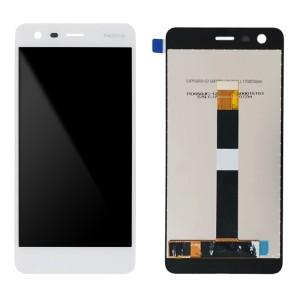 Nokia 2 TA-1029 - Full Front LCD Digitizer White