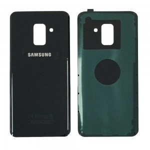 Samsung Galaxy A8 (2018) A530 - Battery Cover with Adhesive Black