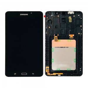 Samsung Tab A T280 7.0 - Full front LCD Digitizer With Frame Black