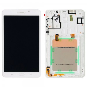 Samsung Tab A T280 7.0 - Full Front LCD Digitizer With Frame White