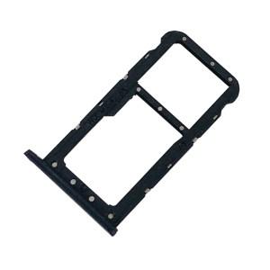 Huawei P20 Lite - Sim 1 / Sim 2 & SD Card Tray Holder Black