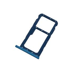 Huawei P20 Lite - Sim 1 / Sim 2 & SD Card Tray Holder Blue