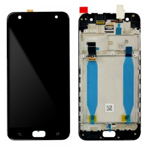 Asus Zenfone 4 Selfie ZD553KL - Full Front LCD Digitizer with Frame Black