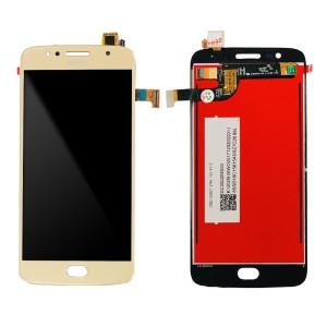 Motorola Moto G5S XT1793 XT1794 - Full Front LCD Digitizer Gold
