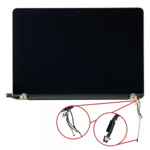 Macbook Pro 13 inch Retina 2012 A1425 - Full Front LCD with Housing Silver