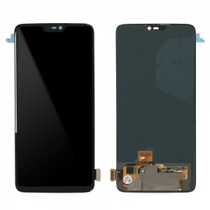 OnePlus 6 - Full Front LCD Digitizer Black