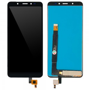 Wiko View - Full Front LCD Digitizer Black