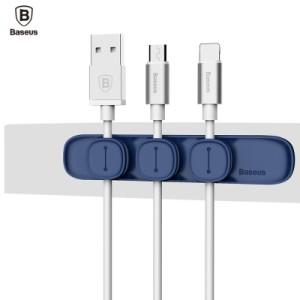 Baseus - Magenet Peas Cable Clip Blue