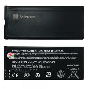 Nokia Lumia 950 - Battery BV-T5E 3000mAh 11.6Wh