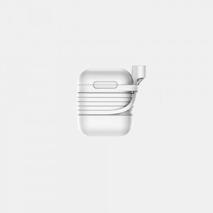 Baseus - Case for Airpods with Anti-Theft Sling Grey