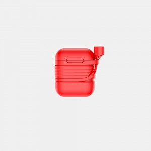 Baseus - Case for Airpods with Anti-Theft Sling Red