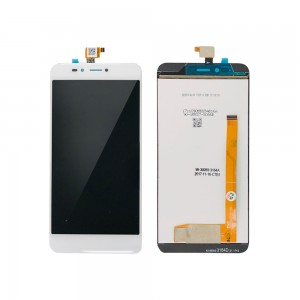 Wiko U Pulse - Full Front LCD Digitizer White