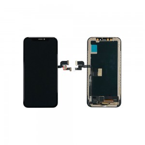 iPhone X - Full Front LCD Digitizer Black In-Cell TianMa