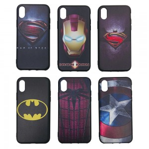 iPhone X / XS - Super Hero 3D TPU Case