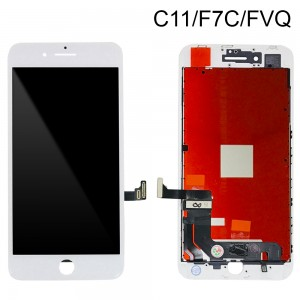 iPhone 8 Plus - LCD Digitizer (Original Remaded) White (Comp. C11/F7C/FVQ)