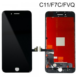 iPhone 8 Plus - LCD Digitizer (Original Remaded) Black (Comp. C11/F7C/FVQ)