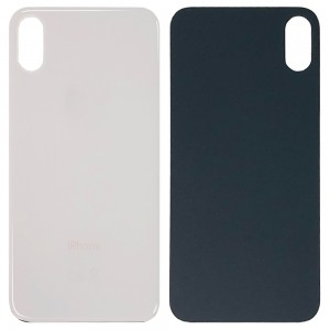 iPhone X - Battery Cover with Camera Big Hole White
