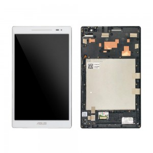 Asus ZenPad 8.0 Z380M - Full Front LCD Digitizer With Frame White