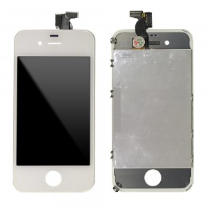 iPhone 4G - LCD Digitizer (original remaded)   White