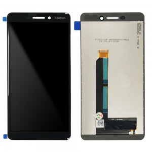 Nokia 6.1 TA-1043 / TA-1050 / TA-1068 - Full Front LCD Digitizer Black