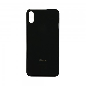 iPhone XS - Battery Cover Black