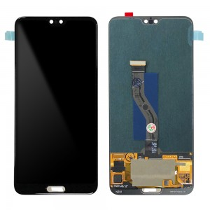 Huawei P20 Plus - Full Front LCD Digitizer Black