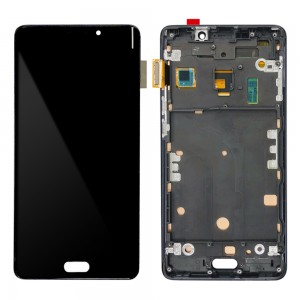 Xiaomi Mi Note 2 - Full Front LCD Digitizer with Frame Black