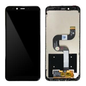 Xiaomi Mi 6X / Mi A2  - Full Front LCD Digitizer With Frame Black