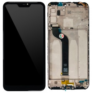 Xiaomi Redmi 6 Pro / Mi A2 Lite - Full Front LCD Digitizer with Frame Black