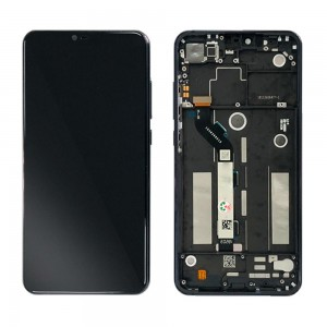 Xiaomi Mi 8 Lite - Full Front LCD Digitizer with Frame Black