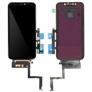 iPhone XR - OEM Full Front LCD Digitizer Black Take Out