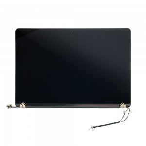 Macbook Pro Retina 15 inch A1398 2015 - Full Front LCD with Housing Silver