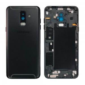Samsung Galaxy A6+ 2018 A605 - Back Housing Cover Black