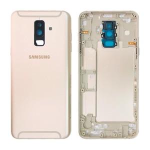 Samsung Galaxy A6+ 2018 A605 - Back Housing Cover Gold