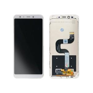Xiaomi Mi 6X / Mi A2 - Full Front LCD Digitizer With Frame White