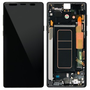 """Samsung Galaxy Note 9 N960 - Full Front LCD Digitizer Midnight Black """"Service Pack"""""""