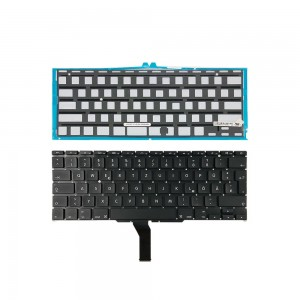 Macbook Air 11 A1370 A1465 (MID 2011-EARLY 2015) - German Keyboard DE Layout with Backlight